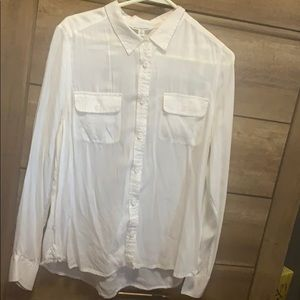 Women's American eagle button up size large